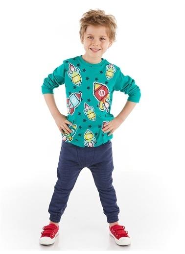 Denokids Rockets Erkek Çocuk Baggy Takım Renkli